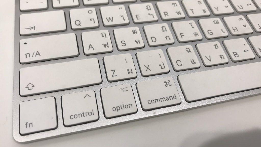 คีย์บอร์ดไร้สาย Magic Keyboard ของ Apple