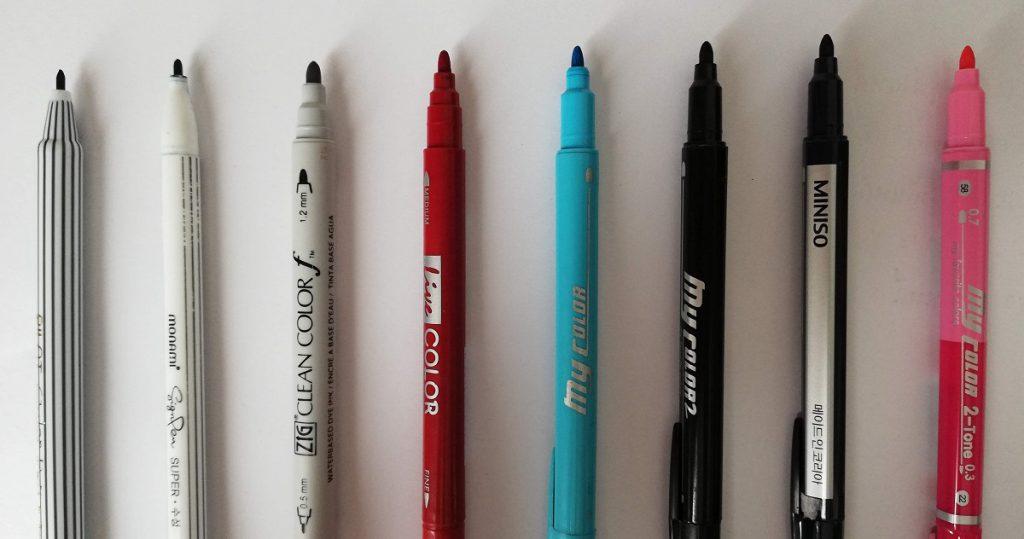 ปากกาสี ยี่ห้อไหนดี