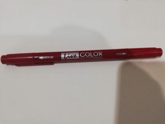 ปากกาสีรุ่น live color