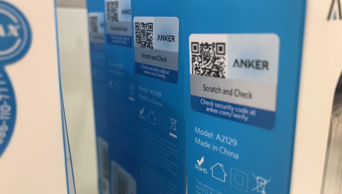 วิธีเช็ค Anker ของแท้หรือปลอม