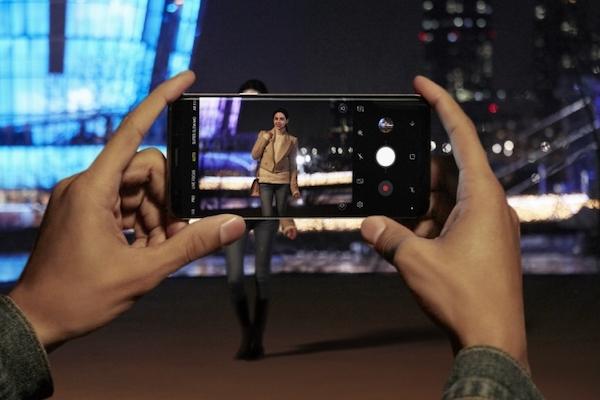การถ่ายภาพในที่มืดของ Samsung S9