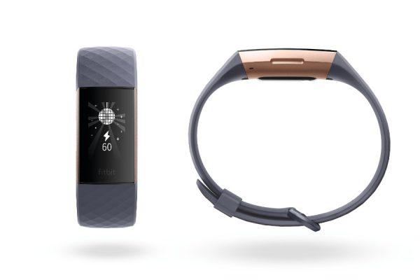 สายรัดข้อมือสุขภาพ Fibit Charge 3