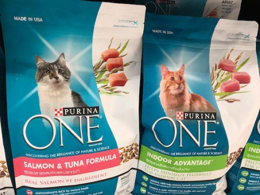 อาหารแมว สำหรับแมวกินยาก