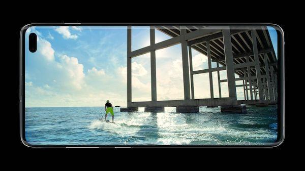 กล้อง Samsung Galaxy S10
