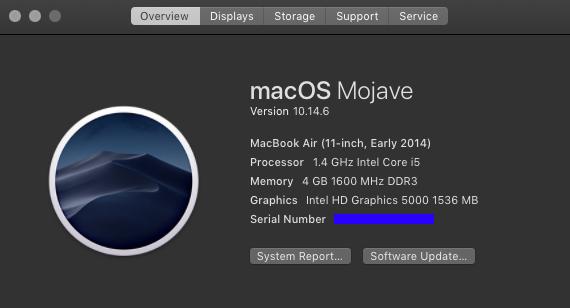 วิธีเช็ครุ่น MacBook