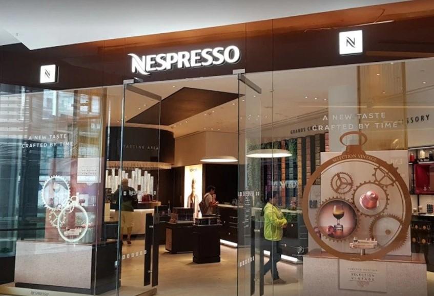 สาขาร้าน Nespresso กรุงเทพ สยาม พารากอน