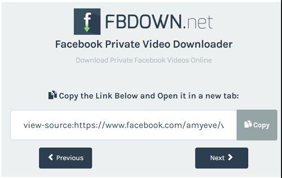 วิธีโหลด FB Private Video ขั้นตอน 2